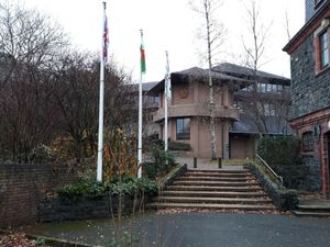 Powys County Council's County Hall