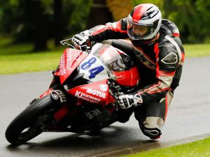 Evans secured two podiums at Aberdare Park. Picture: Greg Llewellyn