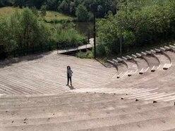 School pupils finish Telford Town Park amphitheatre project
