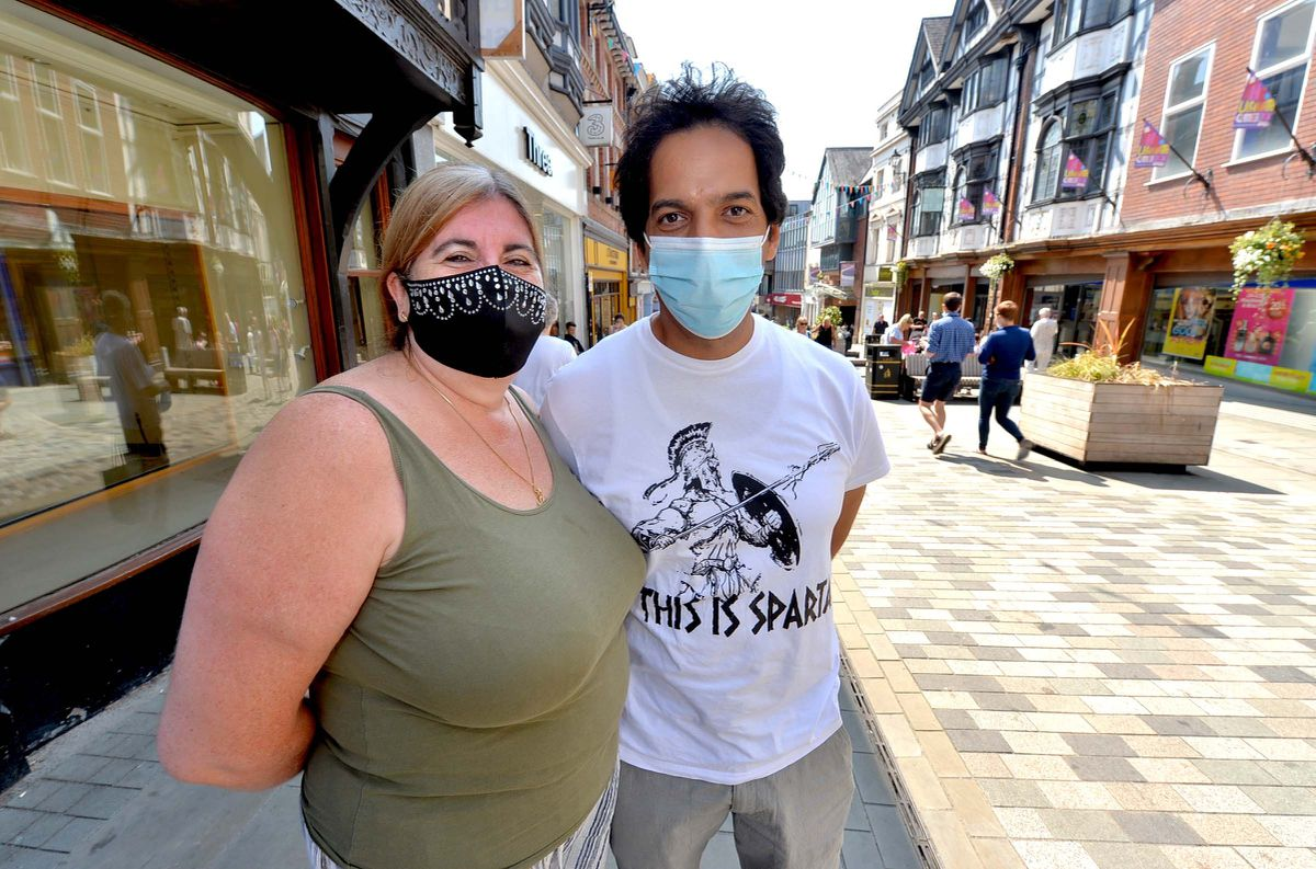 Lucy Rosthorn-Said and Wael Said from Bridgnorth