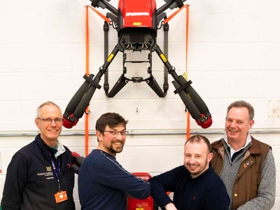 Drones from Shropshire could lead the way in fight against coronavirus