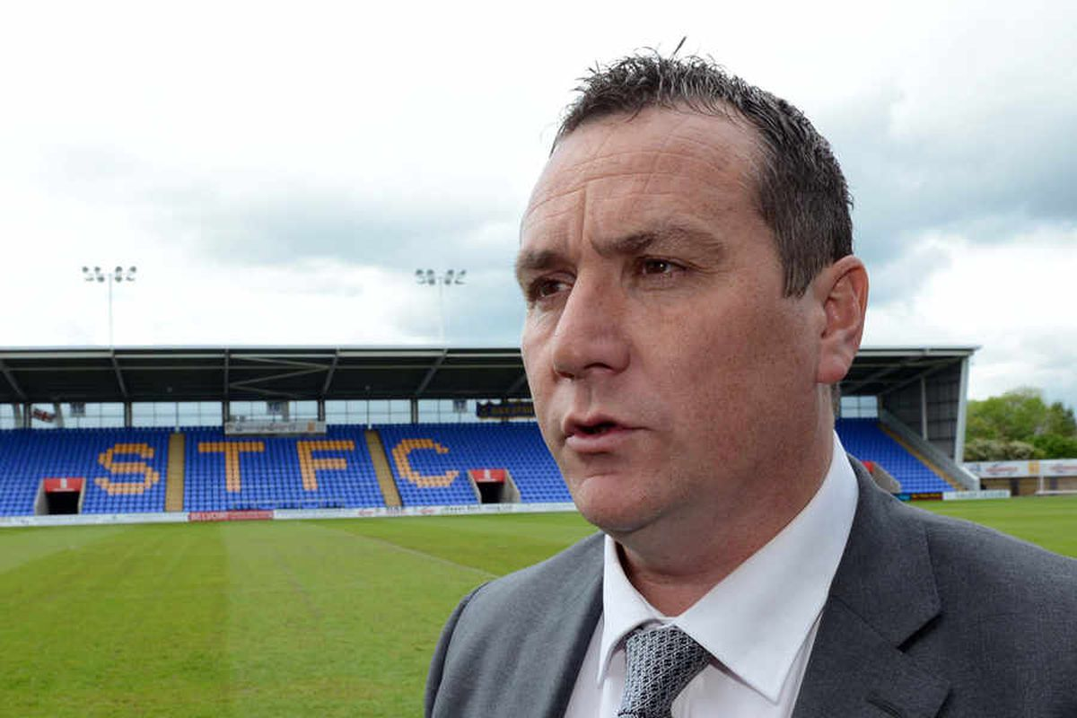 It's fitness first for Shrewsbury Town boss