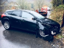 Icy conditions lead to Ironbridge crash