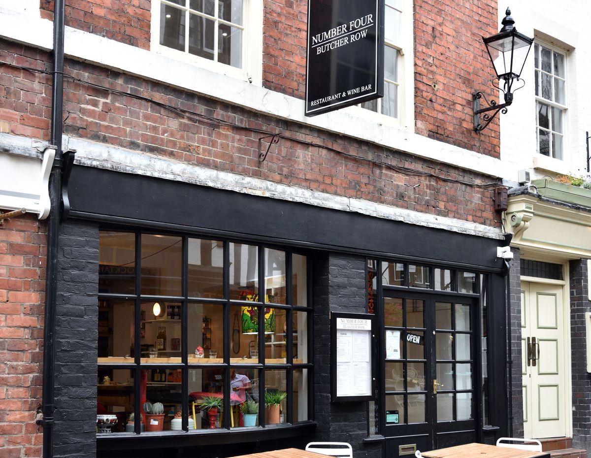 Dinner time – Number 4, Butcher Row, Shrewsbury