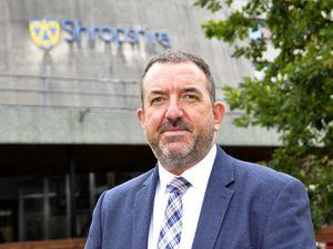 Shropshire Council chief executive Andy Begley