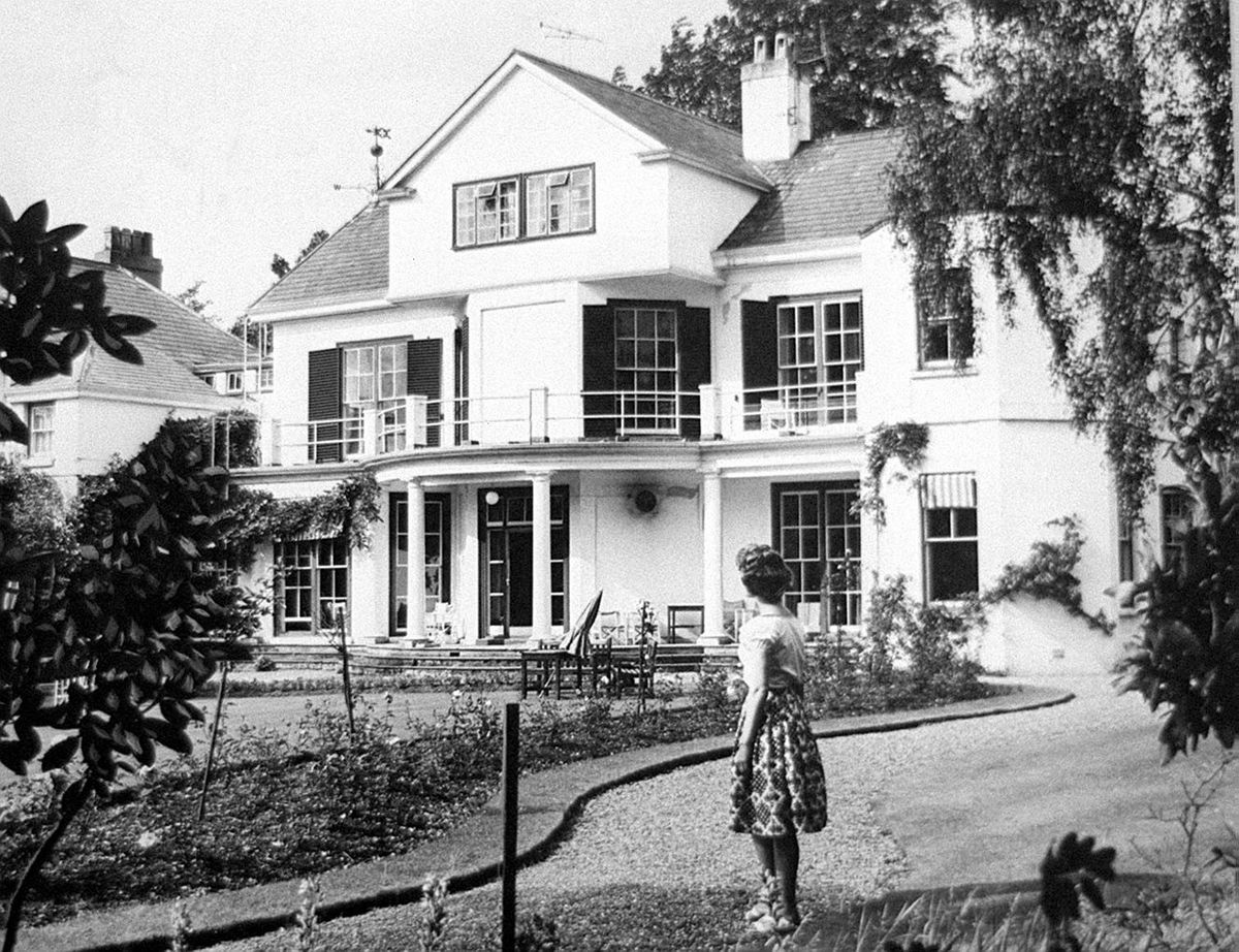 """This photo of the Radbrook Hall Hotel in Shrewsbury was taken on July 23, 1962, and the accompanying caption explained that it was to become a home for distressed publicans – presumably meaning financially distressed. """"The Licensed Victuallers National Homes Association will convert it into administrative and living quarters and build 24 bungalows in the 11-acre grounds."""" The hotel was demolished in 2007."""