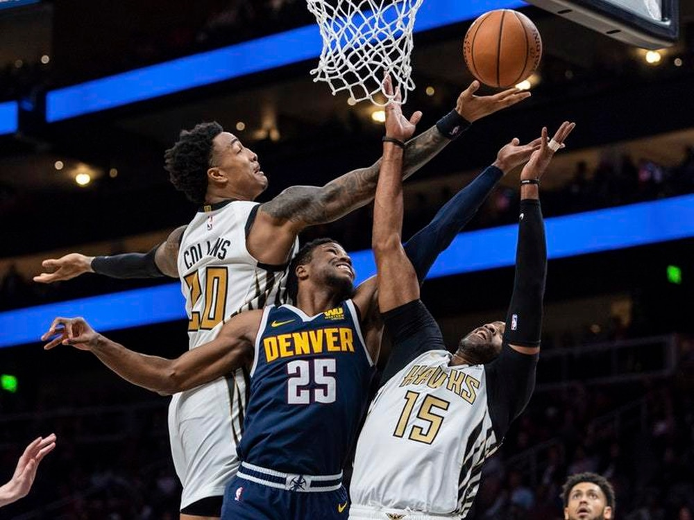 Nuggets hope to bounce back against struggling Hawks