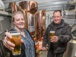 Cheers as lager exported to China
