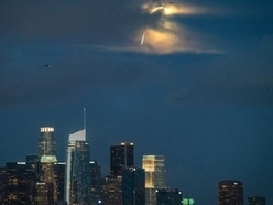 Flaming 'meteor' spotted above LA revealed to be publicity stunt