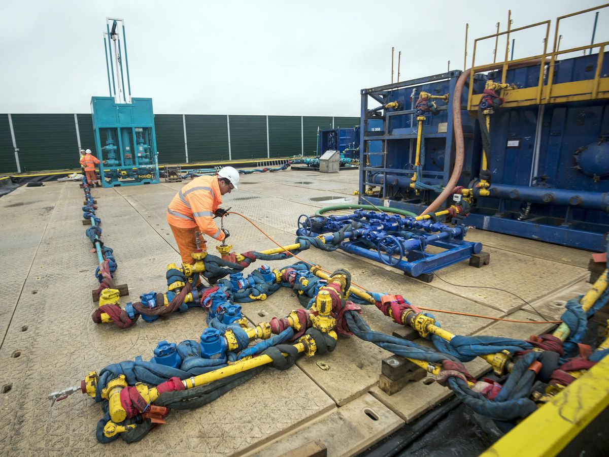 The Cuadrilla fracking site in Little Plumpton