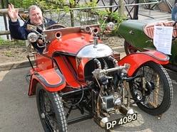 Three-wheel Morgans take over Bridgnorth