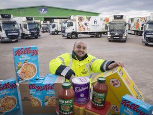 Harlech Foodservice driver Tadek Jones