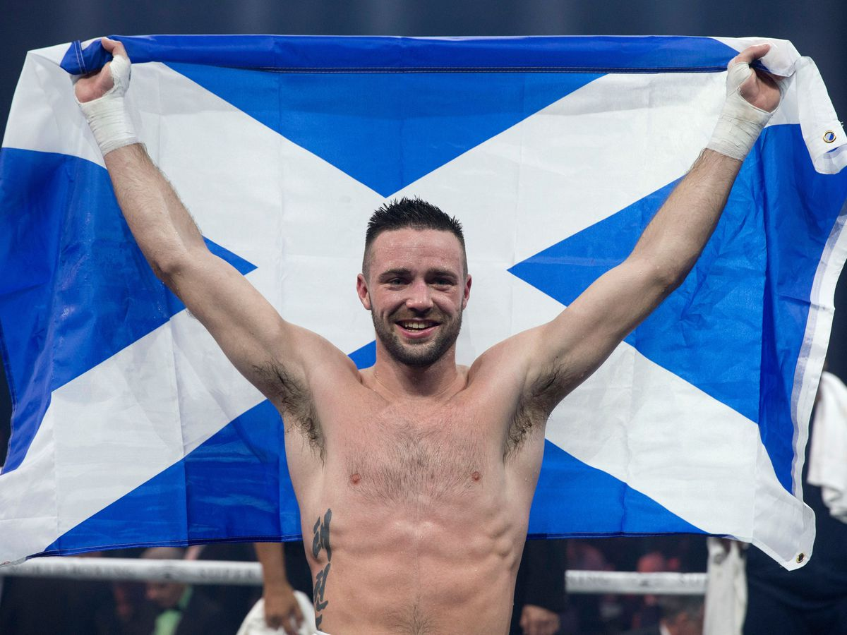 Josh Taylor, pictured, has a chance to win the WBC, WBA, IBF and WBO light-welterweight titles this weekend (Jeff Holmes/PA)