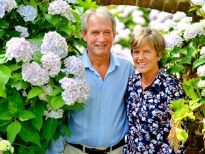 North Shropshire MP Owen Paterson, with his late wife Rose Paterson, has spoken about suicide