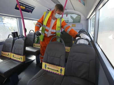 Time to stop advising people to avoid public transport – FirstGroup boss