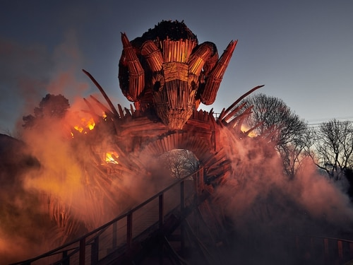 Alton Towers reveals first-look images of new ride Wicker Man