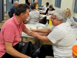 Nearly 600 tested at Newport prostate cancer event