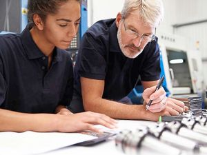 Apprenticeship schemes allow firms to train the next generation of workers so they are equipped with the necessary skills required for their specific industry