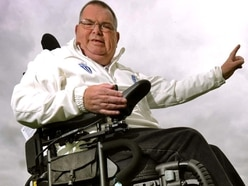 Joy for Telford cricket umpire John as he unveils unique wheelchair - with VIDEO