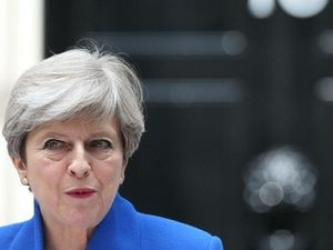 Many people think Theresa May should quit. (Jonathan Brady/PA)