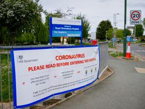 LAST COPYRIGHT SHROPSHIRE STAR JAMIE RICKETTS 27/04/2020 - GV's - Royal Shrewsbury Hospital in Shrewsbury....