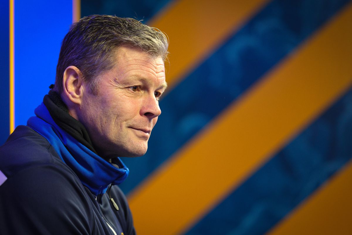 Steve Cotterill Unveiled as new Manager of Shrewsbury Town. (AMA)
