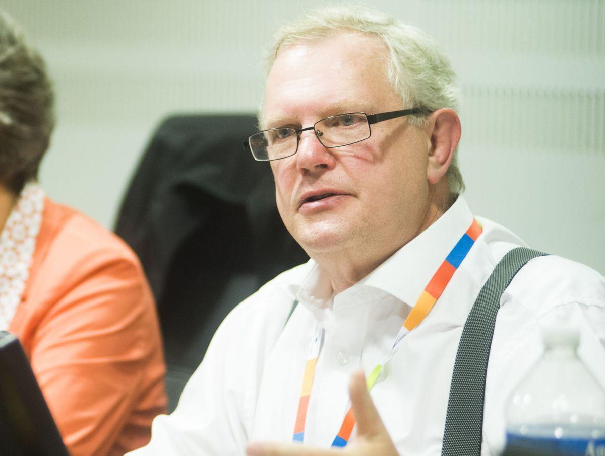 David Sandbach, former chief executive of Telford's Princess Royal Hospital