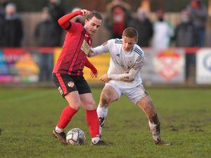 Edward Jones of Telford (on loan from Stoke City)