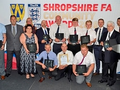 Sterling efforts recognised at Shropshire FA awards
