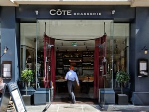 Cote Brasserie in Shrewsbury's Square