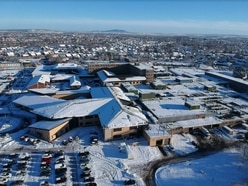 Shropshire hospital staff who battled through snow are thanked