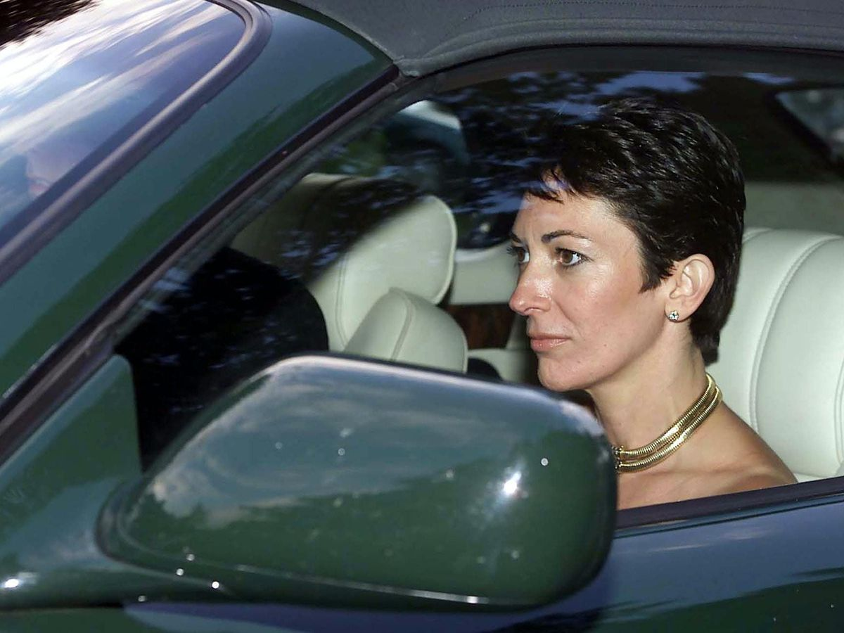 Ghislaine Maxwell seen in 2000