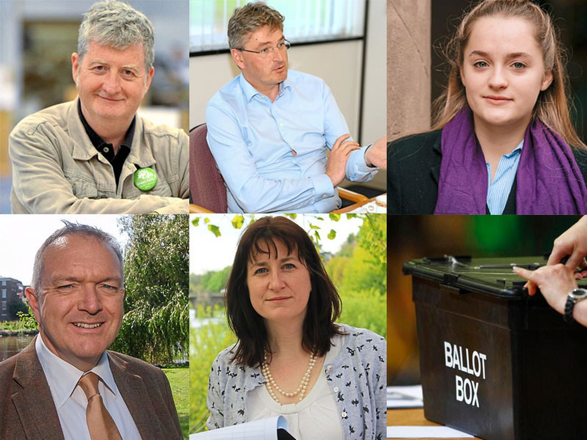 The candidates for Shrewsbury