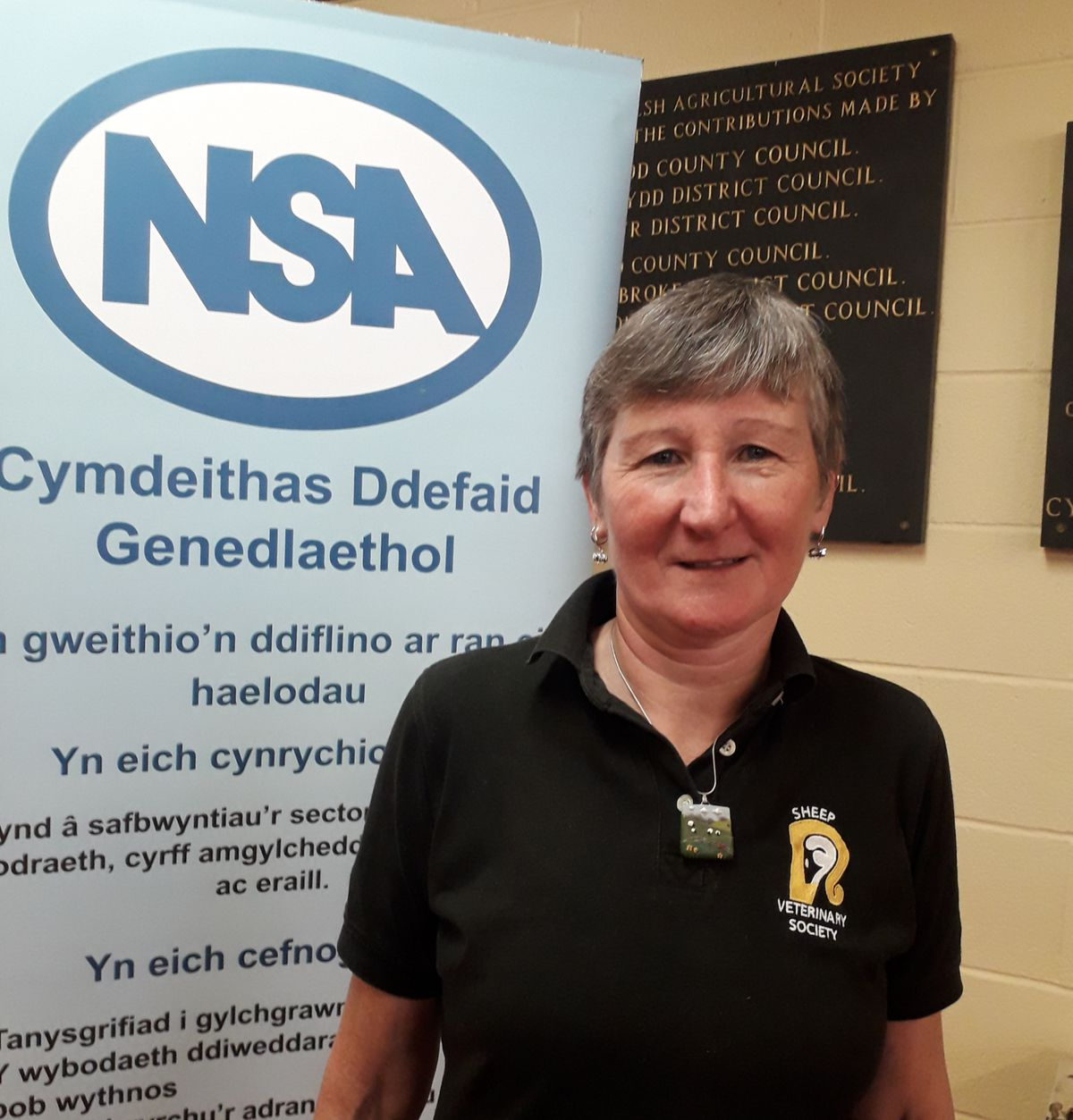 NSA Wales Cymru chairman Kate Hovers