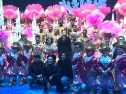 Beverley Knight visits Birmingham Hippodrome to see Snow White panto