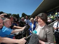 Sinn Fein hails Arlene Foster's visit to football final as hand of friendship