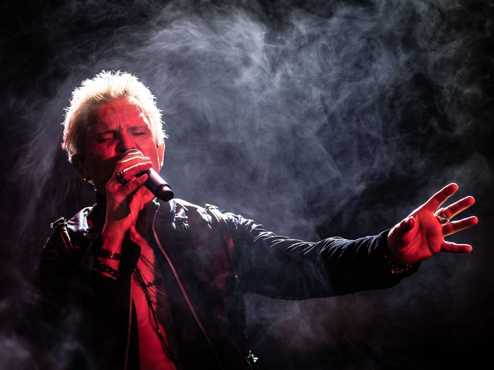 Billy Idol, O2 Academy, Birmingham - in pictures