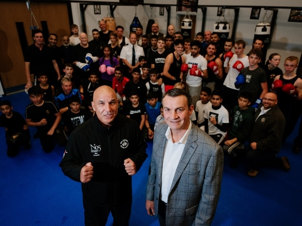 Boxing academy's new headquarters a big hit
