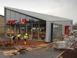 Work almost complete on Telford's new KFC