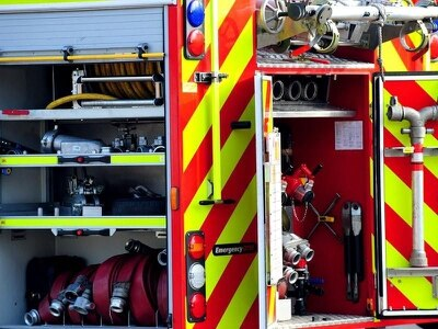 Telford firefighters rescue children trapped in cars