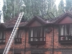 Four homes caught up in 'suspicious' Telford fire