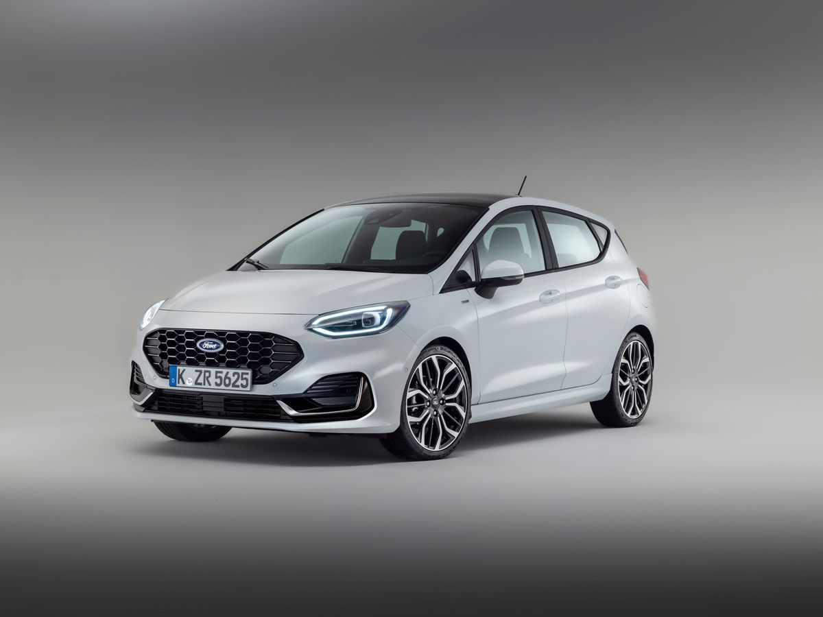 Updated Ford Fiesta