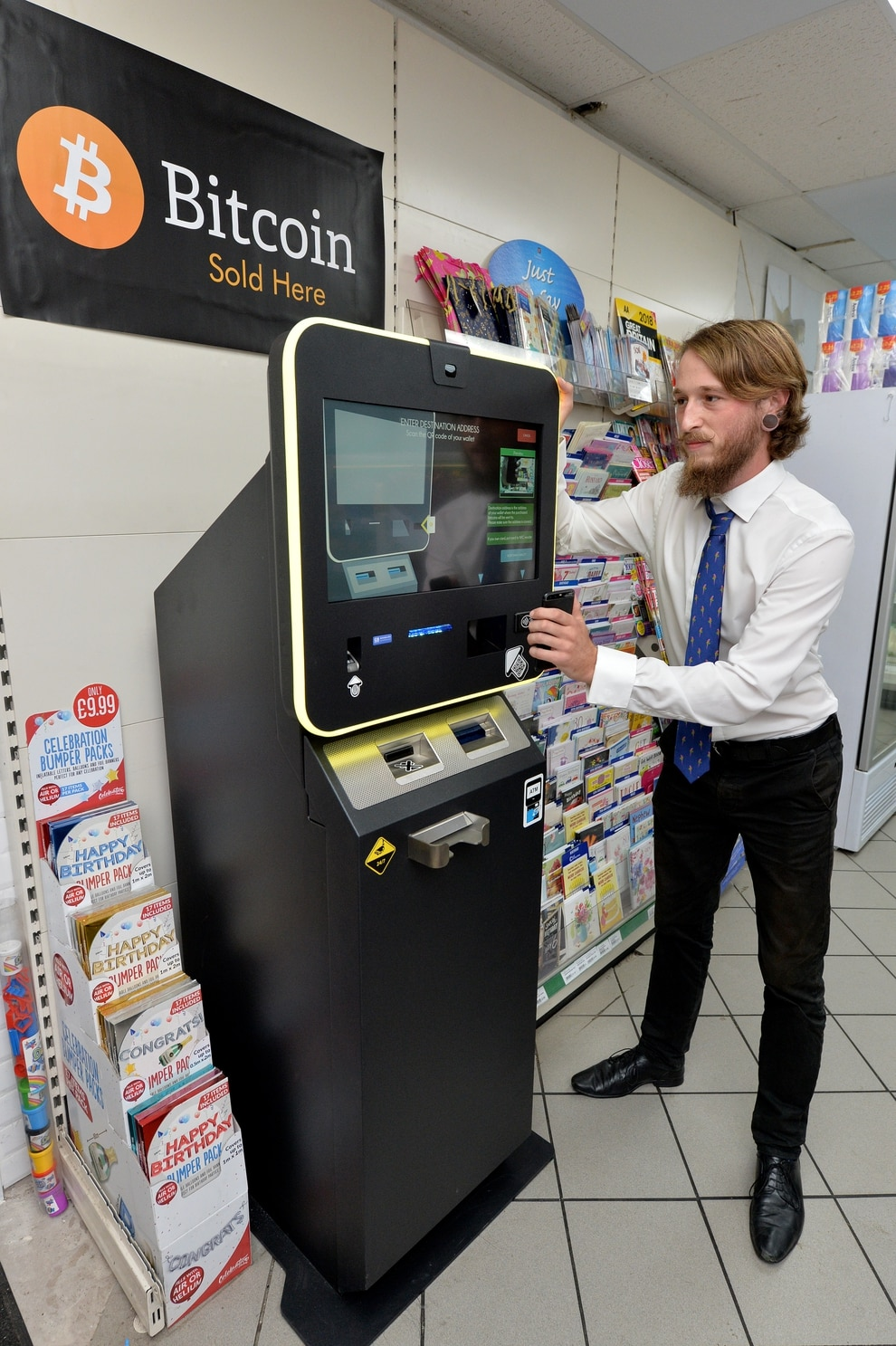 First Bitcoin ATM installed at Shropshire petrol station ...