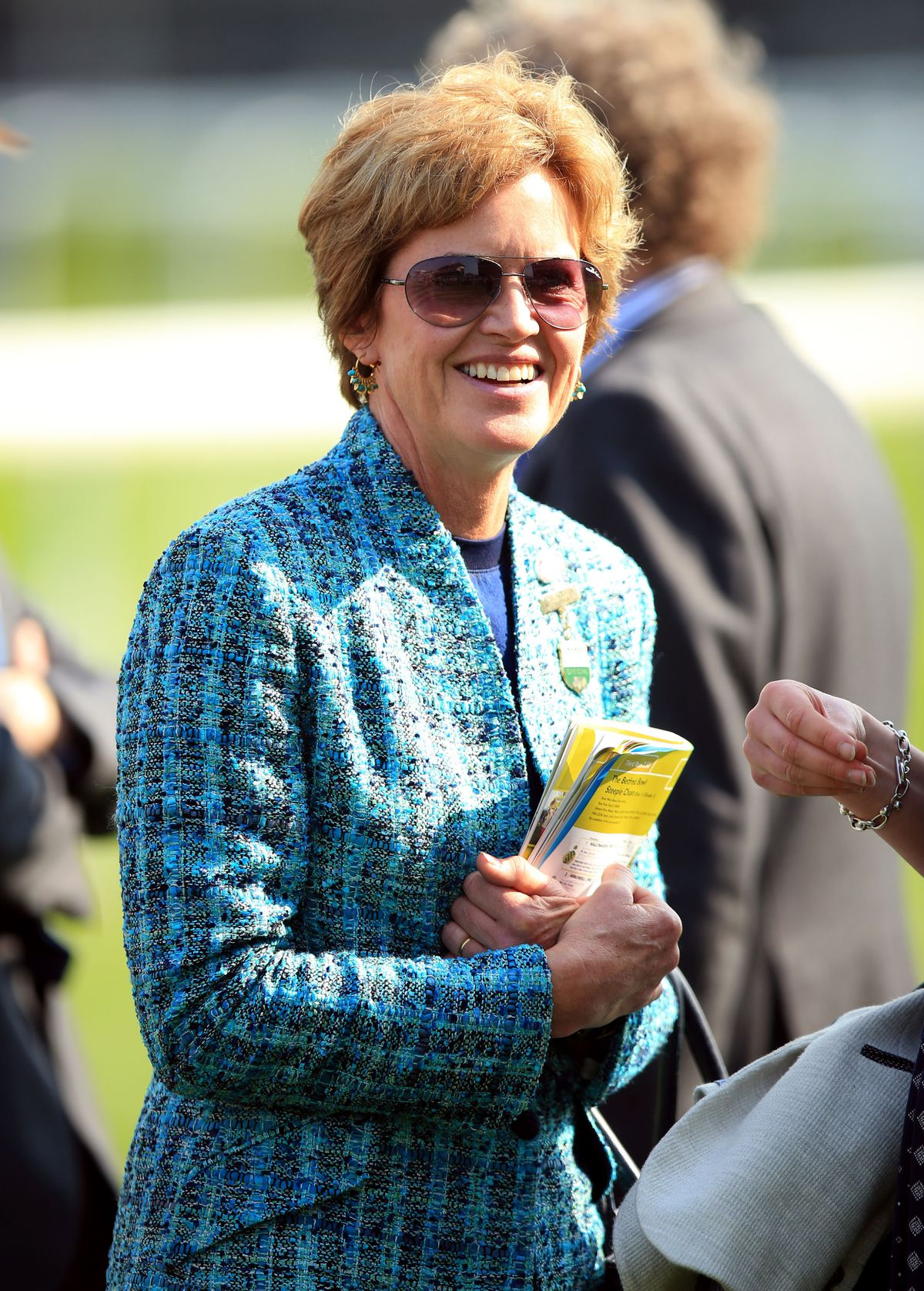 Rose Paterson at Aintree in 2015