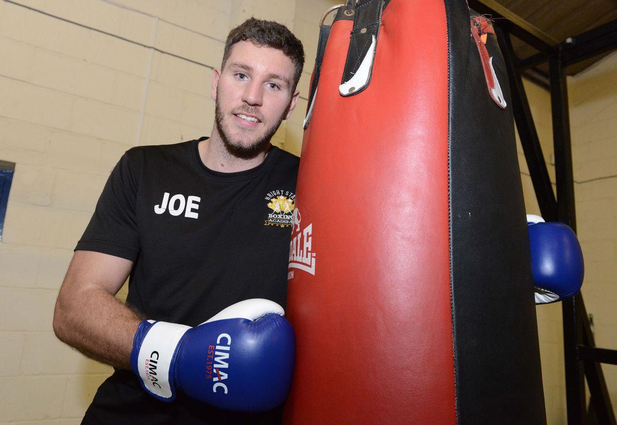 Joe at the boxing club in Shifnal