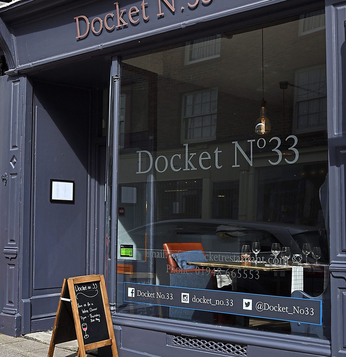 Unassuming – Docket No.33 in Whitchurch
