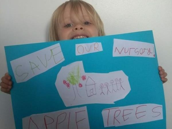 WATCH: Preschoolers' in 'save our nursery' video plea