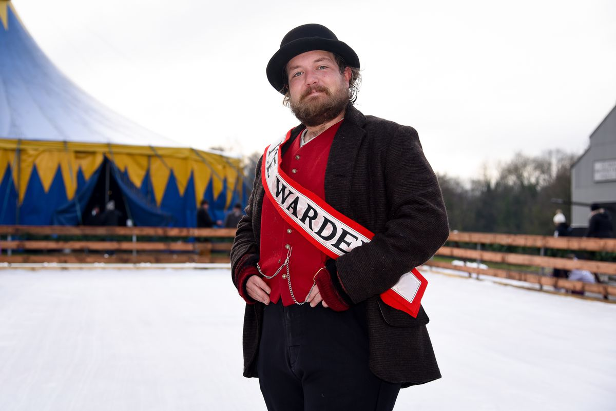 Alison and her team have created costumes for the new ice rink wardens