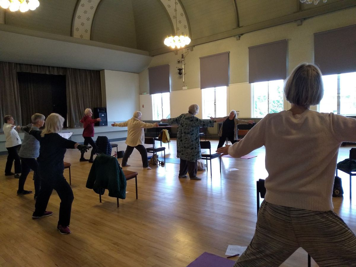 One of the exercise sessions run by Telford & Wrekin Senior Citizens Forum