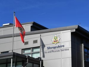 Shropshire Fire and Rescue Service..